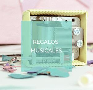 Cajas de música y otros regalos musicales