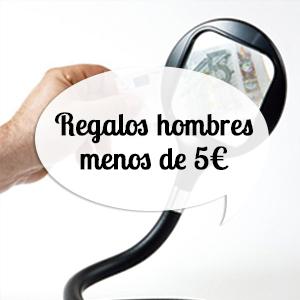 Regalos originales para hombres por menos de 5 euros
