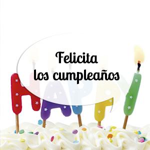 Felicita y celebra los mejores cumpleaños
