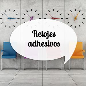 Relojes adhesivos