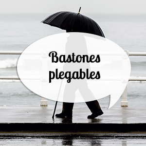 Bastones plegables para andar y pasear