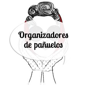 Organizadores de pañuelos, fulares, echarpes y corbatas