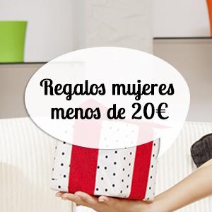 Regalos originales para mujeres por menos de 20 euros