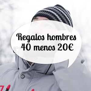 regalos para hombres de 40 años por menos de 20 euros