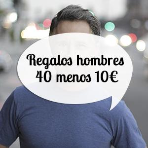 regalos para hombres de 40 años por menos de 10 euros