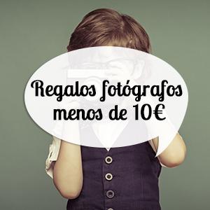 regalos para fotógrafos por menos de diez euros