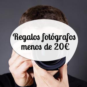 Regalos para fotógrafos por menos de 20 euros