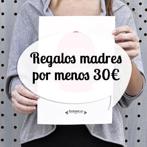 Regalos para madres por menos de 30 euros
