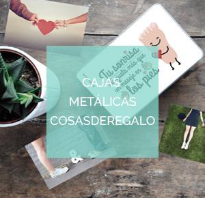 Cajas metálicas cosasderegalo.com