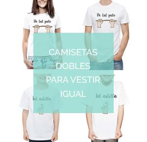 Camisetas dobles para vestir iguales