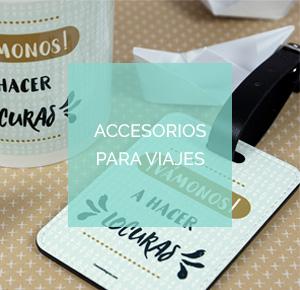Complementos y accesorios para viaje