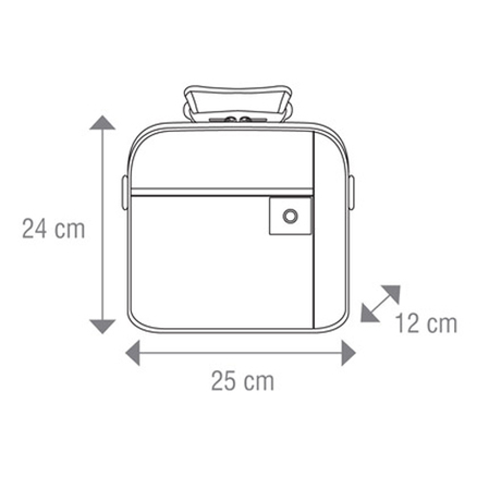 Bolsa Lunch box Kaki