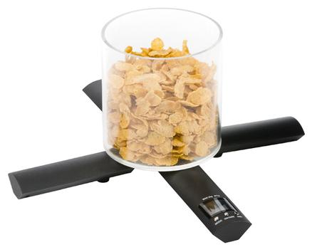 B scula de cocina plus plegable digital utiliza 2 pilas for Bascula cocina profesional