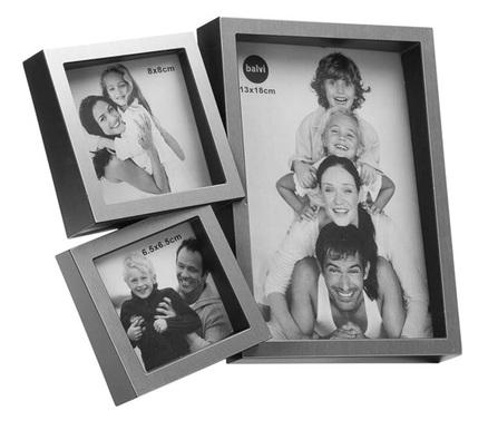 Marco de fotos vanity m ltiple para 3 fotos de color negro - Marcos de fotos multiples ...