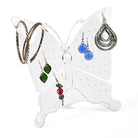 Soporte pendientes Farfalla acrílico