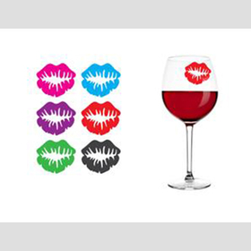 Marcadores de copas besos