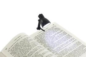 Luz lectura Little Lamp negro utiliza 3 pilas AG3 incluidas incl.