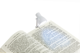 Luz lectura Little Lamp blanco utiliza 3 pilas AG3 incluidas incl.
