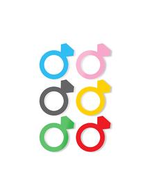 Marcadores de copas set 6 anillos