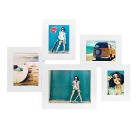 Marco de fotos Air múltiple para 5 fotos blanco