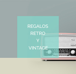 Regalos retro y vintage