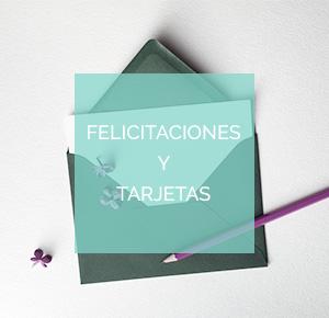 Felicitaciones, tarjetas y complementos de regalo