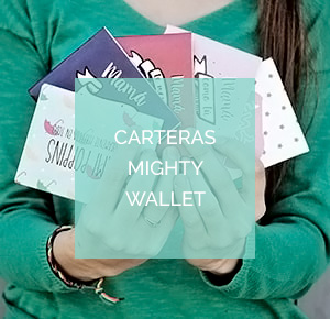 Carteras de papel impermeables Mighty Wallet de Dynomighty