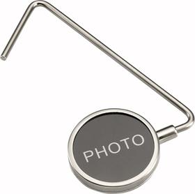 Colgador bolso con foto de zinc
