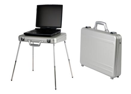 Malet n ord port til mesa ordenador de aluminio - Mesa portatil ordenador ...