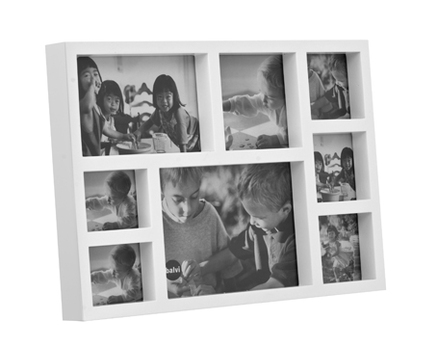Marco de fotos kassel m ltiple para 8 fotos de color - Marcos de fotos multiples ...