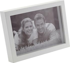 Marco de fotos SALEM para 1 foto 10x15 de color blanco de de plástico