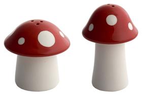 Set sal y pimienta Mushroom de cerámica