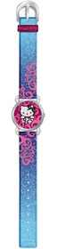 Reloj digital Art azul Hello Kitty