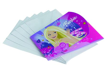 Tarjetas De Invitación Barbie