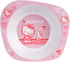 Cuenco Hello Kitty Tone on Tone