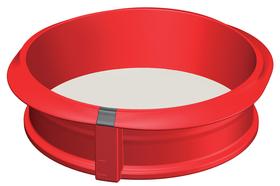 Molde circular desmontable Ø23cm con plato de cerámica
