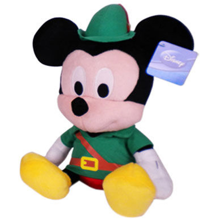 Peluche Mickey Robin Hood Disney 35cm