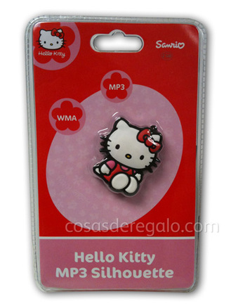 MP3 con forma 2GB Hello Kitty