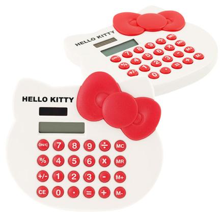 Calculadora solar Hello Kitty