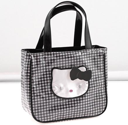 Bolso pequeño Lolly negro Hello Kitty