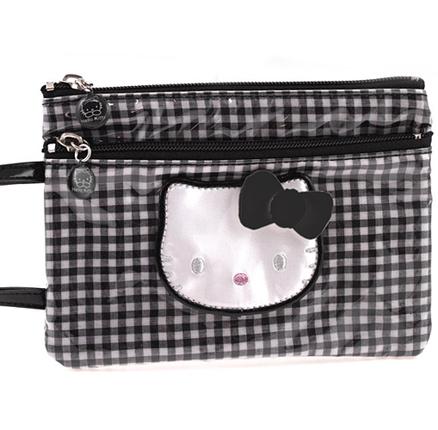 Bolsa con asa pequeña Lolly negro Hello Kitty