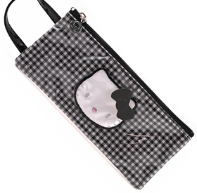 Bolsa pequeña con asa Lolly negro Hello Kitty