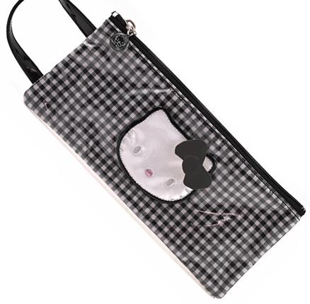Bolsa pequeña con asa Lolly negro Hello Kitty