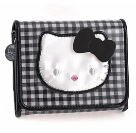 Cartera pequeña Lolly de color negro Hello Kitty