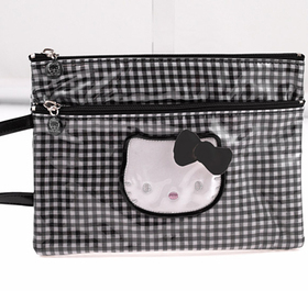 Bolsa con asa mediana Lolly negro Hello Kitty