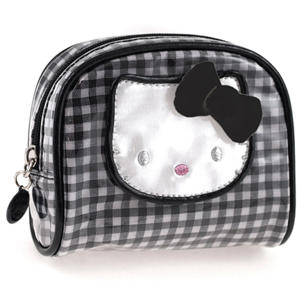 Monedero Lolly de color negro Hello Kitty