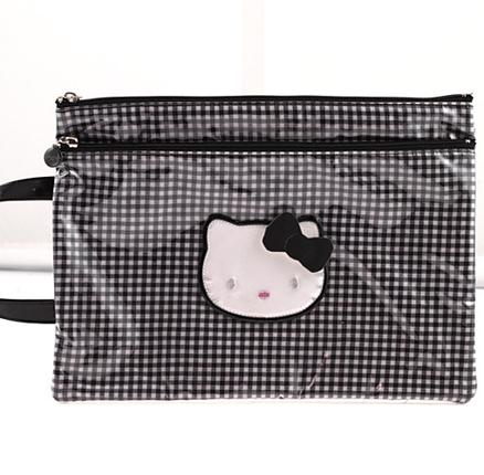 Bolsa de color negro Lolly Hello Kitty