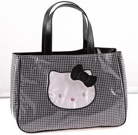 Bolso mediano Lolly negro Hello Kitty