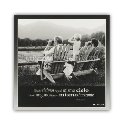 Felicitación MILK - Todos vivimos bajo el mismo cielo...