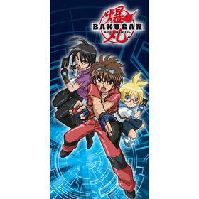 Toalla Bakugan 3 personajes 75x150 cm